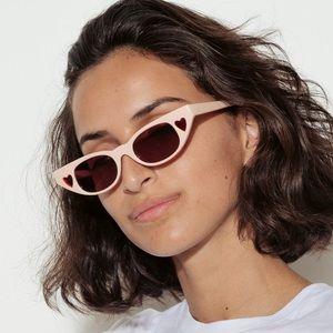 NWT Heartbreaker Sunglasses Adam Selman Le Specs